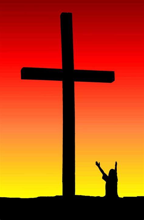 child praise  cross stock photo freeimagescom