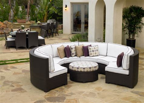 northcape curved sectional contemporary outdoor sofas
