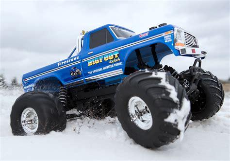 bigfoot monster truck video bigfoot 1 monster truck brushed 36034 1