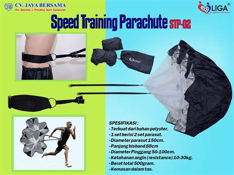 Jual Parachute Parasut Latihan speed parachute stp 02 distributor olahraga