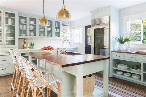 green kitchen island mint green kitchen cabinets design ideas