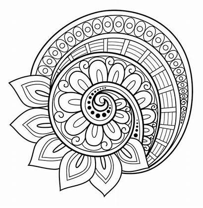 Mandala Coloring Pages Pumpkin Printable Getcolorings