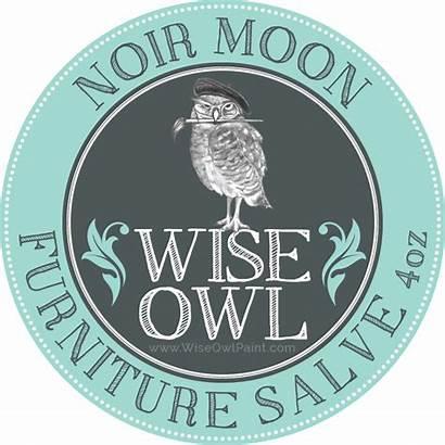 Salve Furniture Owl Wise Moon Noir Tobacco