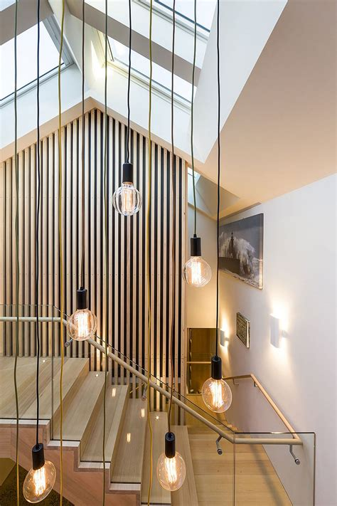 shaping  home   sculptural staircase posh
