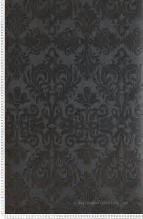 Papier Peint Baroque Gris Et Noir by Papier Peint Nobile Anthracite M 233 Tallis Tiffanie Papier