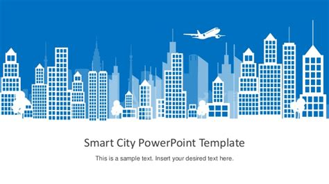 How To Add Template In Powerpoint by Slidemodel Smart City Powerpoint Template