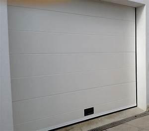 Porte De Garage Sur Mesure Pas Cher : porte de garage sectionnelle sur mesure nao fermetures ~ Edinachiropracticcenter.com Idées de Décoration