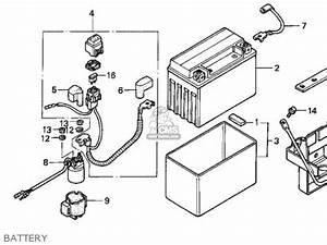honda trx300ex fourtrax 300ex 1999 x usa parts list With battery honda atv wiring diagram honda 300 fourtrax wiring diagram