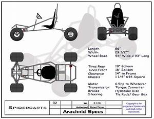 Go Kart Plans and Blueprints by SpiderCarts