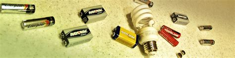 recycle batteries and cfl bulbs hazardous waste disposal