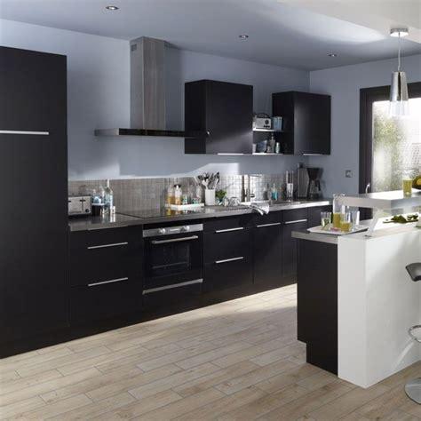 cuisine uip noir castorama fr idées pour la maison glace et