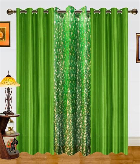 dekor world curtains dekor world set of 3 window sheer curtains curtains