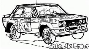 Coloriage Voitures de course