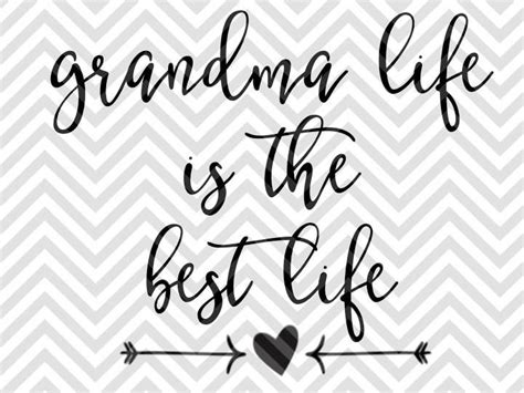 15 ideas for mothers day shadow boxes. Grandma Life is the Best Life Nana SVG and DXF Cut File ...