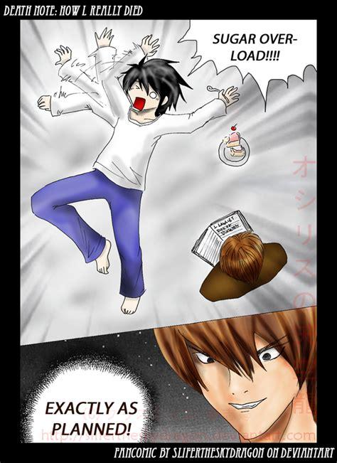 Death Note Sugar Overloaded L By Slifertheskydragon On