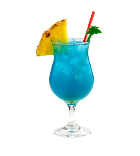 The Blue Hawaii Cocktail