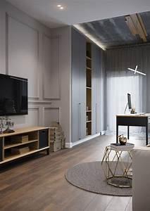 Un Appartement Contemporain  U00e0 St Petersbourg
