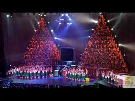 2011 singing christmas trees first orlando youtube