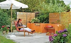 wasserfall sitzplatze selbstde With französischer balkon mit garten wasserfall set