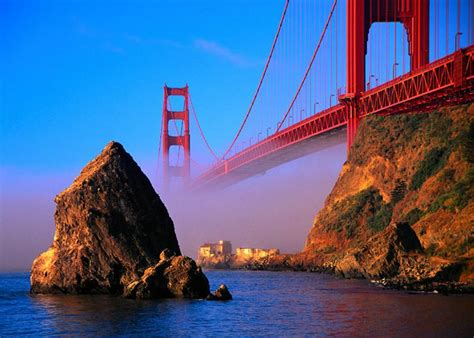 beautiful places of usa golden gate bridge in usa the most beautiful places in usa