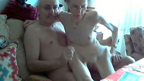 Skinny Granny Rides Her Husband In Webcam Show Mature