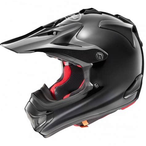 arai motocross arai mxv helmet plain black dirtbikexpress