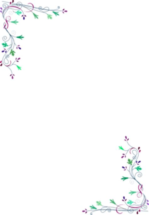 color wheel  floral frame clipart