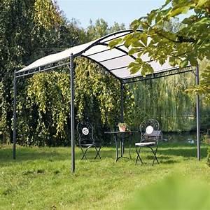 Garten Loungemöbel Günstig Kaufen : pavillon f r den garten mit eisengestell pavillon metall ~ Bigdaddyawards.com Haus und Dekorationen