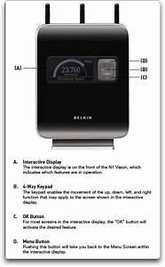 Buy Belkin N1 Vision Wireless Adsl2  Modem  Bel9724