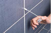clean shower grout How to Clean and Re Grout Bathroom Tile: 8 Steps (with Pictures)