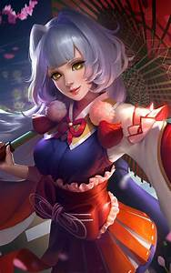 Download Cherry Witch Kagura Mobile Legends Free Pure 4K