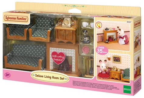 Sylvanian Families Kitchen And Living Room Collection : Deluxe Living Room Set