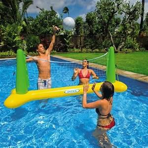 Jeux Gonflable Pour Piscine : intex jeu de volley flottant pour piscine achat vente ~ Dailycaller-alerts.com Idées de Décoration