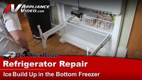 refrigerator repair ice   freezer whirlpool maytag