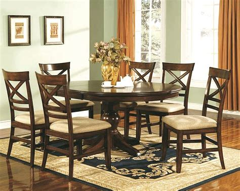 winners  topaz cherry dining room set wo dtcs