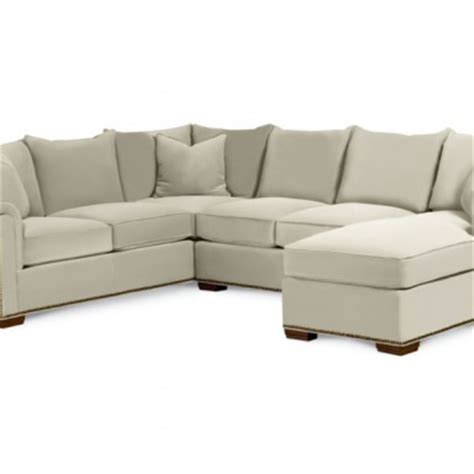 thomasville leather sofa with chaise sofa sectional with chaise fremont thomasville luxury