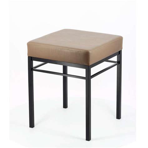 tabouret bas de cuisine en métal quadra 4 pieds tables