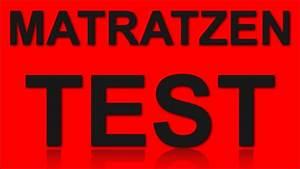 Grüne Erde Matratzen Test : matratzen test youtube ~ Lizthompson.info Haus und Dekorationen
