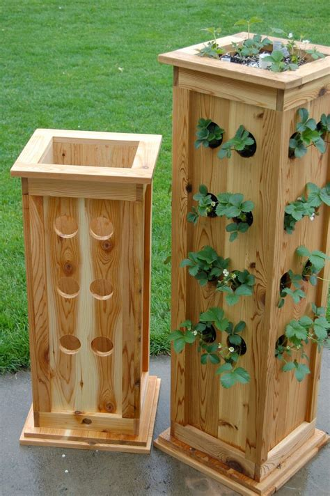 homemade wood planters woodworking projects plans
