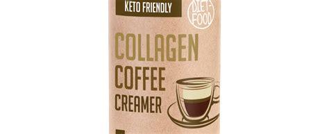 Keto substitute for milk and cream: COLLAGEN COFFEE CREAMER 300G - Ketomania