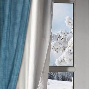 Rideau Pour Fenetre : rideau thermique isolant anti froid pour fen tre ~ Teatrodelosmanantiales.com Idées de Décoration