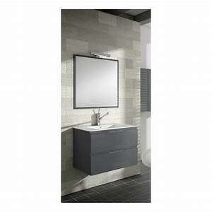 meuble sous vasque suspendu delta 2 tiroirs verticaux With meuble sous vasque suspendu