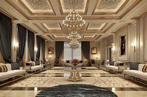 Royal, Villas, And, Palaces, Luxury, Classic, Interior, Design, Studio