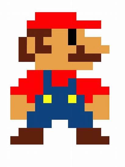 Mario Pixels Playbuzz Characters Bit Bros Nintendo