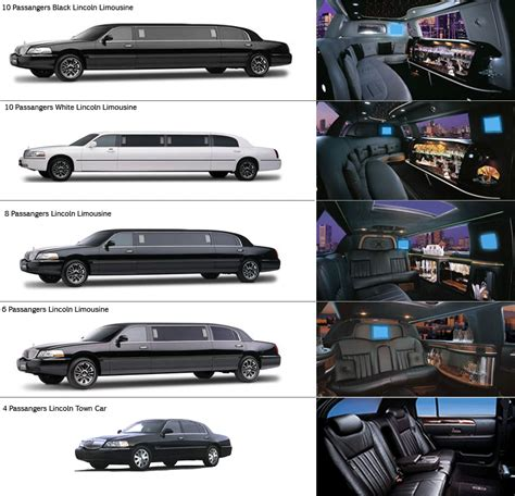 Limousine Types, Brands And