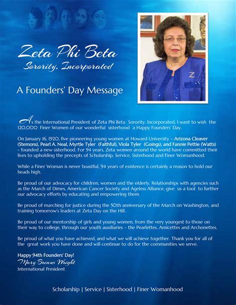 happy  founders day zeta phi beta sorority