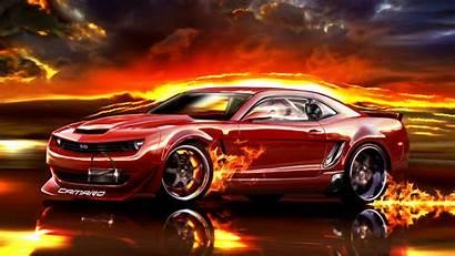 Camaro Fire Chevrolet Cars Wallpapers Desktop Backgrounds