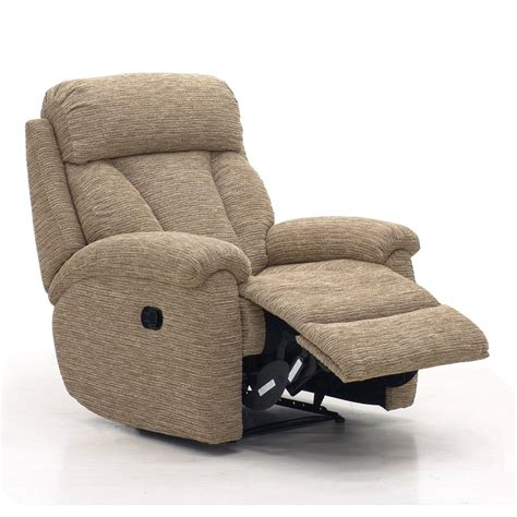 Fabric Reclining Chairs lazboy power recliner chair in fabric at smiths