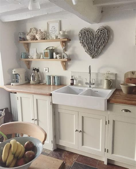 cuisine cosy cuisine blanche de cagne shabby
