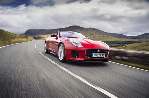 Jaguar F-type Convertible 2.0 I4 Uk 2017 Review